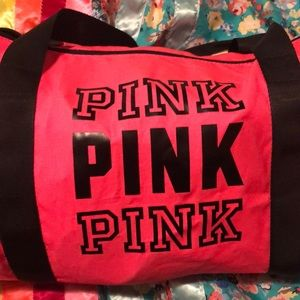 Mini PINK duffle bag